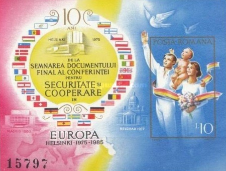 [The 10th Anniversary of the European Conference on Security and Cooperation, type FUF]