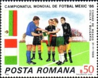[Football World Cup - Mexico 1986, type FYS]