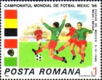 [Football World Cup - Mexico 1986, type FYT]