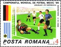 [Football World Cup - Mexico 1986, type FYW]