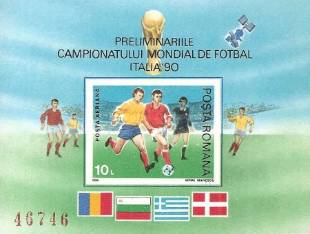 [Football World Cup - Italy, type GNM]
