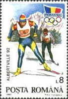 [Winter Olympic Games - Albertville, France, type GUE]
