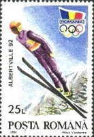 [Winter Olympic Games - Albertville, France, type GUH]