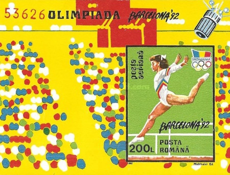 [Olympic Games - Barcelona, Spain, type GWB]