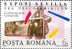 [World Fair EXPO `92 Seville, type GWF]