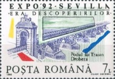 [World Fair EXPO `92 Seville, type GWG]