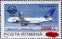 [Means of Transport Stamp of 1994 Surcharged, type HEC2]