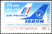 [The 75th Anniversary of the French-Romanian Aviation Cooperation, type HGH]