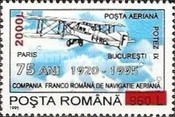 [The 75th Anniversary of Aviation Agreements - Aviation Cooperation  Stamp of 1995 Surcharged, type HGI1]