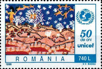 [The 50th Anniversary of UNICEF - UN Conference on Human Settlements, HABITAT II - Istanbul, type HKJ]