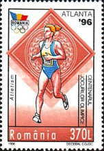 [The 100th Anniversary of the International Olympic Committee IOC - Olympic Games - Atlanta, USA, type HLD]