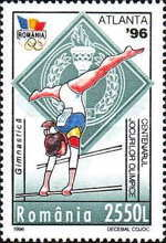 [The 100th Anniversary of the International Olympic Committee IOC - Olympic Games - Atlanta, USA, type HLG]
