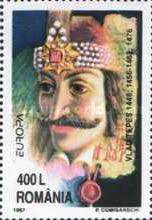 [EUROPA Stamps - Tales and Legends - Dracula, type HNI]
