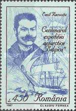 [The 100th Anniversary of the Beginning of Antartic Expedition, type HOF]