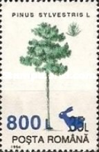 [Trees - Stamps of 1994 Surcharged, type HPX]