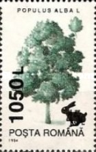 [Trees - Stamps of 1994 Surcharged, type HPY]