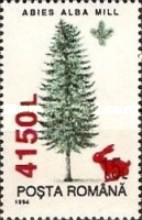 [Trees - Stamps of 1994 Surcharged, type HPZ]