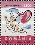 [Greeting Stamps - Valentine`s Day, type HTW]