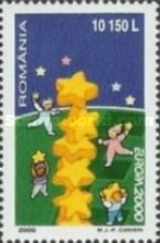 [EUROPA Stamp - Tower of 6 Stars, type HUV]