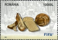 [The 100th Anniversary of the International Football Federation - FIFA, type IGH]