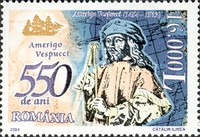 [The 550th Anniversary of the Birth of Amerigo Vespucci, 1454-1512, type IGR]
