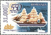 [The 550th Anniversary of the Birth of Amerigo Vespucci, 1454-1512, type IGS]