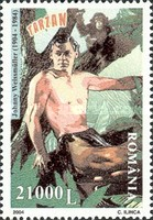[The 100th Anniversary of the Birth of Johnny Weissmuller, 1904-1984, type IIH]