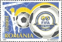 [The 100th Anniversary of the International Football Association - FIFA, type IIJ]
