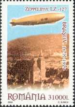 [The 75th Anniversary of the Flight of Zeppelin LZ 127 over Brasov, type IIV]