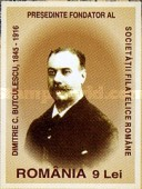 [The 100th Anniversary of the Birth Dimitrie C. Butulescu, 1845-1916, type IOP]