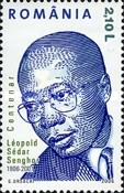 [The 100th Anniversary of the Birth of Leopold Sedar Senghor, 1906-2001, type IQR]