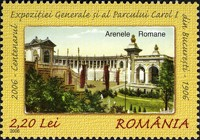 [The 100th Anniversary of the National Exhibition, Bucharest, type IRW]