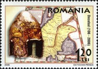 [Stamp Day - The 1900th Anniversary of the Death of King Decebalus, type ISL]