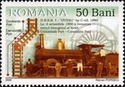 [The 150th Anniversary of the Opening of the First Railroad in Romania Oravita-Bazias - Steam Locomotives, type ITA]