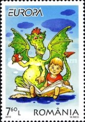 [EUROPA Stamps - Children's Books, type JFF]