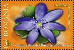 [The 150th Anniversary of the Bucharest Botanical Garden, type JGG]