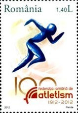 [The 100th Anniversary of the Romanian Athletic Federation, type JMO]