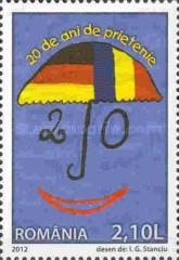 [The 20th Anniversary of the German-Romanian Friendship Treaty, type JNW]