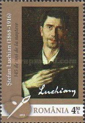 [The 145th Anniversary of the Birth of Stefan Luchian, 1868-1916, type JON]