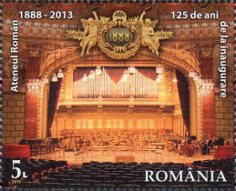[The 125th Anniversary of the Inaguration of the Romanian Athenaeum, type JOX]