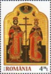 [The 1700th Anniversary of the Edict of Milan - Saint Emperors Constantine & Helen, type JPY]