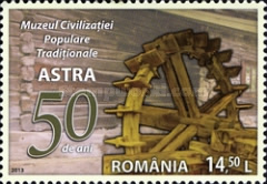 [The 50th Anniversary of the ASTRA Museum of Traditional Folk Civilisation, type JRR]