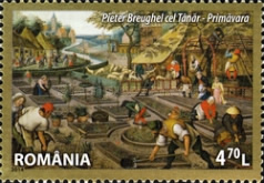[Paintings - Masterpieces of Universal Art in Romanian Heritage, type JVL]