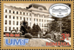 [The 70th Anniversary of The University of Medicine and Pharmacy of Tîrgu Mureș, type JZK]