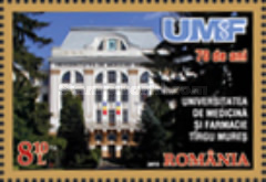 [The 70th Anniversary of The University of Medicine and Pharmacy of Tîrgu Mureș, type JZL]