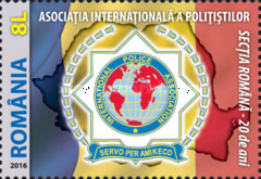 [The 20th Anniversary of the Romanian Section of the I.P.A. - International Police Association, type KFG]