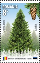 [Forests' Gold - Joint Issue with Estonia, type KMV]