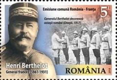 [Henri Berthelot, 1861-1931 - Joint Issue with France, Typ KTK]