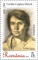 [The 140th Anniversary of the Birth of Cecilia Cuțescu-Storck, 1879-1969, type KUM]