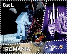 [The 50th Anniversary of the Apollo 11 Mission to the Moon, type KWV]